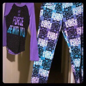 AUTHENTIC Ladies Star Wars Pajamas